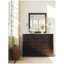 Modern Craftsman Elemental 11 Drawer Dressing Dresser
