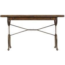 European Farmhouse Chivalry Split-Top Valet Writing Desk