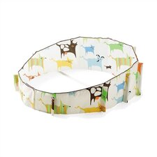 Sleepi Bassinet Bumper in Green Tales