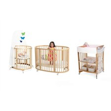 Sleepi Bassinet and Crib Nursery Set