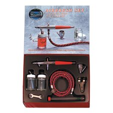 <strong>Paasche Air Brush</strong> Dual Action Airbrush Set