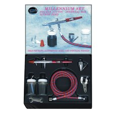 <strong>Paasche Air Brush</strong> Millenium Dbl Action Airbrush Kit
