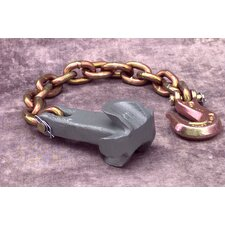Hole Plug/Clevis Hook W/18Chain