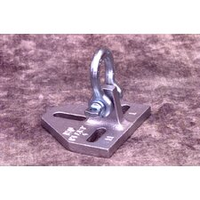 T23 Hinge Plate W/ 3/8 Shackle