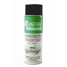 Rubberized Undercoating Aerosol