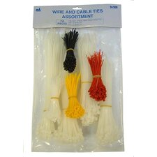 Wire & Cable Ties Asst