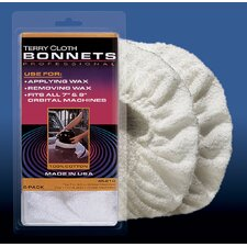 Med Weight Terry Orbital Bonnet (2Pk)