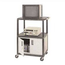 LP Series TV Cart with Locking Cabinet