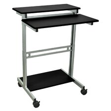 "31"" Standing Desk with Casters"
