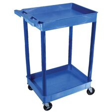 <strong>Luxor</strong> Tub Utility Cart in Blue