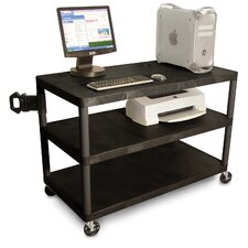 Three Shelf EnduraTable Extra Wide Workstation