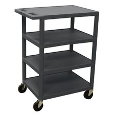 "<strong>Luxor</strong> 36"" 4 Shelf Banquet Cart"