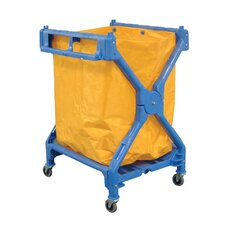 <strong>Luxor</strong> Folding Laundry Cart