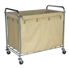 "35"" Industrial Laundry Cart"