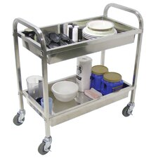 "<strong>Luxor</strong> 35.5"" Stainless Steel Cart"