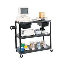 Two Shelf EnduraTable Extra Wide Workstation