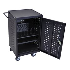 16-Compartment Charging Cart