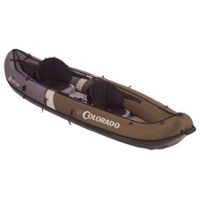 Colorado Hunter Fish 2 Person Inflatable Canoe