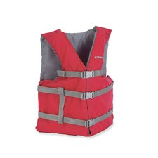 PFD 2001 Universal Gen Adult Life Vest in Red