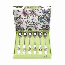Botanic Garden 6 Piece Tea Spoons