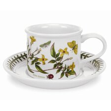 Botanic Garden 7 oz. Coffee Cup and Saucer