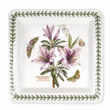 """Botanic Garden Square 10.5"""" Dinner Plate"""