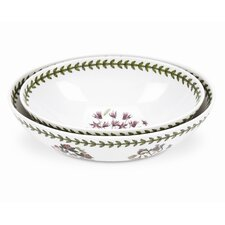 Botanic Garden Oval Nesting Bowl (Set of 2)