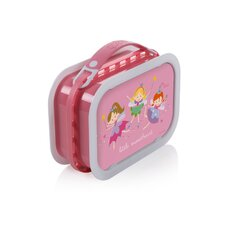 Deluxe Lunchbox with Fairy Princess Design in Pink