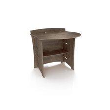 "Driftwood 32"" H x 29"" W Desk Peninsula"
