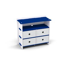 Race 4 Drawer Dresser