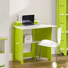 "Frog 43"" Writing Desk with Accessory Shelves and File Cart"