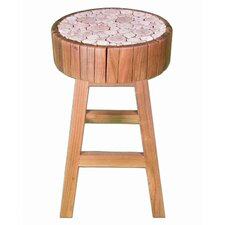 "Back to the Roots Eucalyptus 24"" Bar Stool"