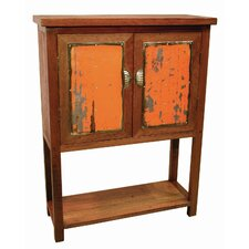 Moonshine Coda Hutch with Metal Accent