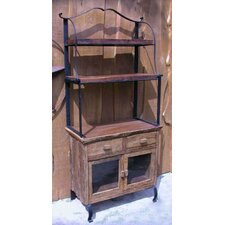 Country 2 Drawer Baker's Cabinet