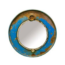 <strong>Groovystuff</strong> Chris Bruning Steam Punk Barrel Mirror