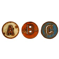 Chris Bruning Art ABC Signs