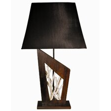 """Antares Lighting Stickwork 22"""" H Table Lamp with Empire Shade"""