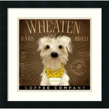 'Wheaten Dark Roast' by Stephen Fowler Framed Graphic Art