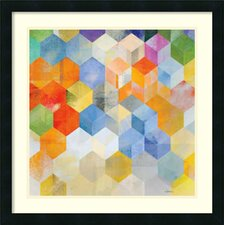 Cubitz II Framed Print By Noah