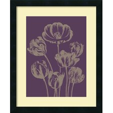 <strong>Amanti Art</strong> Tulip 13 Framed Print By Botanical Series