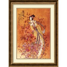 <strong>Amanti Art</strong> Goddess of Prosperity Framed Print by Chinese