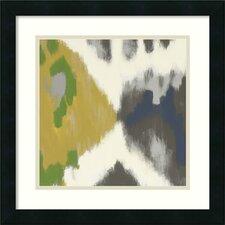 'Vivid II' by Rita Vindedzis Framed Painting Print