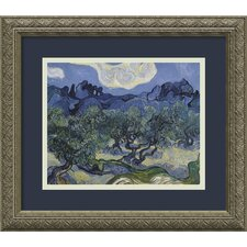 'The Olive Trees 1889' by Vincent Van Gogh Framed Painting Print