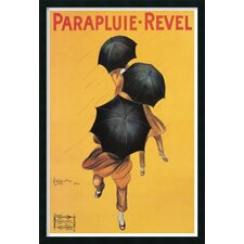 'Parapluie - Revel' by Leonetto Cappiello Framed Vintage Advertisement