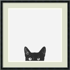 Curiosity Framed Photographic Print by Jon Bertelli