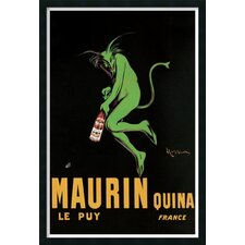 'Maurin Quina'  by Leonetto Cappiello Framed Vintage Advertisement