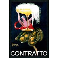 'Contratto' by Leonetto Cappiello Framed Vintage Advertisement
