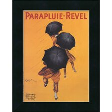 'Parapluie-Revel' by Leonetto Cappiello Framed Vintage Advertisement