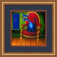 'Virgil' by Will Rafuse Framed Painting Print