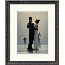 'Dance Me to the End of Love' by Jack Vettriano Framed Painting Print